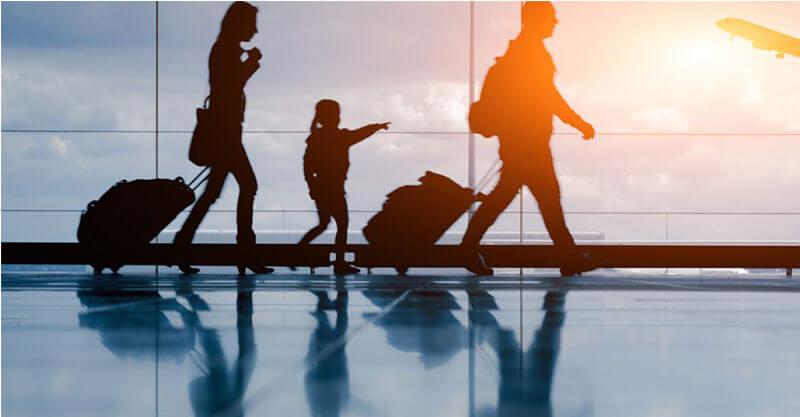 travelling childrens
