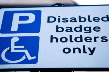 blue parking badge