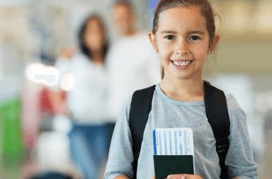 viajar al extranjero con niños