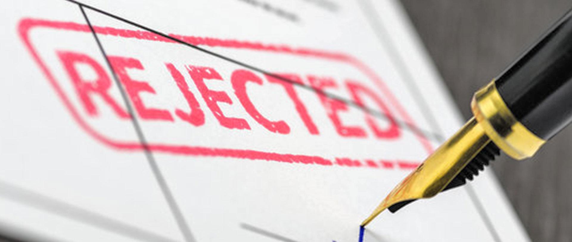 visa rejected